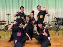 『Percussion Performance Players』(PPP)東京都・小平市高等学校公演