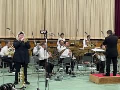 「ユニフィル・ウインド・オーケストラ」特別ゲスト:エリック・ミヤシロ 神奈川県・高等学校公演